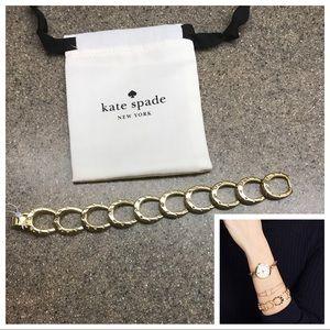 🆕Kate Spade ♠️ Wild Ones Pave Horseshoe Bracelet